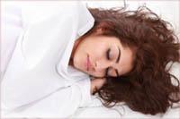 2.2 Tidur dengan rambut terbuka
