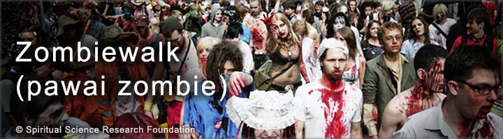 Efek spiritual negatif dari zombie walk