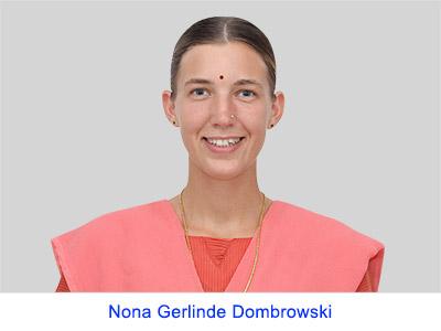 Pengalaman spiritual Nona Gerlinde Dombrowski