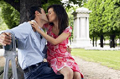 Berciuman didepan umum – efek spiritualnya
