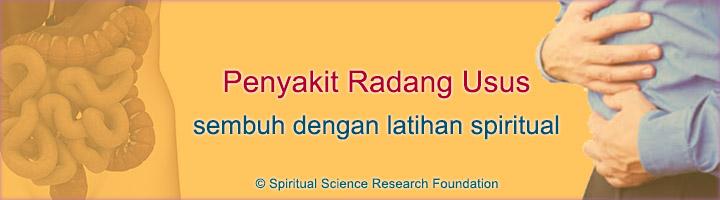 Mengatasi penyakit radang usus dengan latihan spiritual