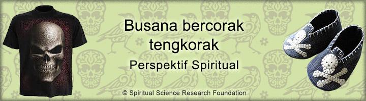 Busana bergambar tengkorak – perspektif spiritual