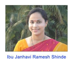 Transkrip wawancara dengan Ibu Janhavi Ramesh Shinde pada tanggal