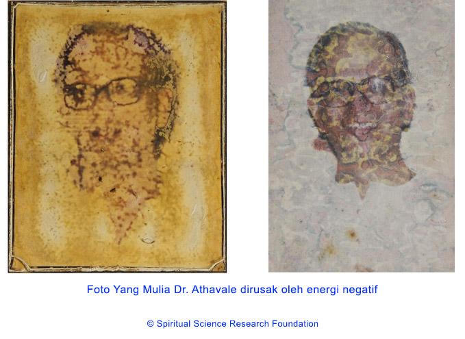 Disfigurasi (Pengrusakan) foto oleh energi negatif tingkat lebih tinggi