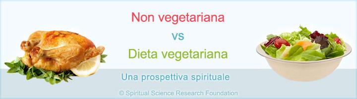 Dieta vegetariana vs non vegetariana
