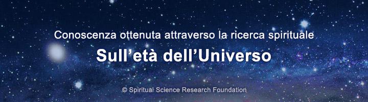 Ricerca spirituale nell'era dell'universo e i suoi cicli