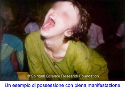 Possessione demoniaca manifesta e non manifesta