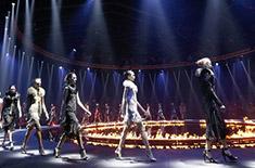 Fashion show walk
