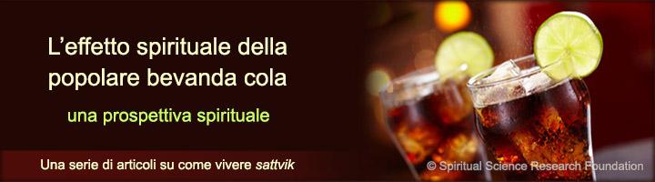 Effetto spirituale sulla salute del bere la popolare bevanda cola