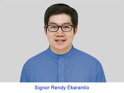 Esperienza spirituale del Signor Rendy Ekarantio