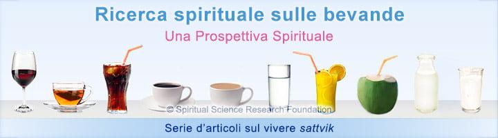 Ricerca spirituale sulle bevande