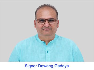 Esperienza spirituale di Mr Dewang Gadoya
