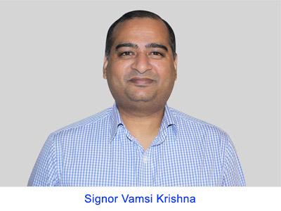 Esperienza spirituale del Signor Vamsi Krishna Gollamudi