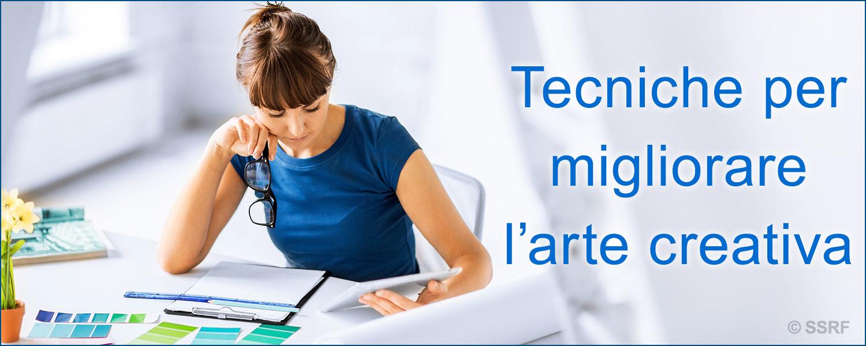 Tecniche per migliorare l'arte creativa