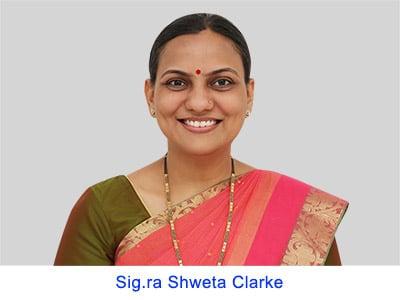 Esperienza spirituale della Sig.ra Shweta Clarke