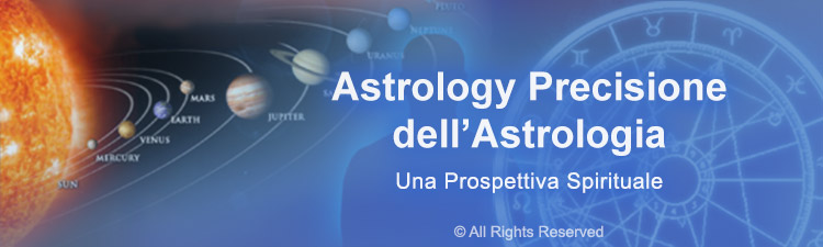 Precisione dell'Astrologia