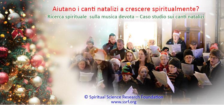 Aiutano i canti natalizi a crescere spiritualmente?