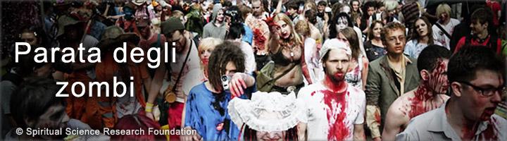 Effetto spirituale della parata degli zombie