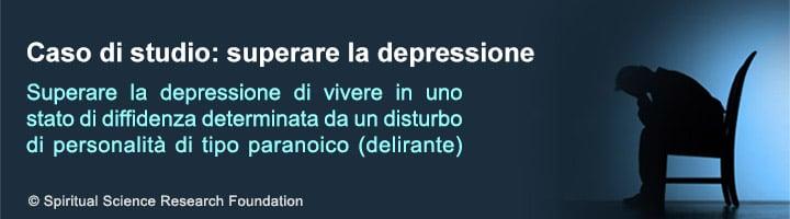 Superare la depressione determinata da un disturbo di personalità di tipo paranoico