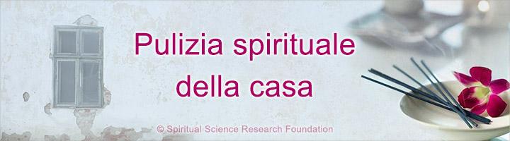Pulizia spirituale della casa
