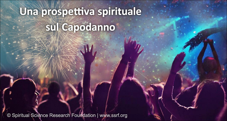 Una prospettiva spirituale riferita al Capodanno