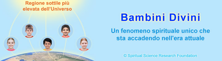 Bambini Divini (spiritualmente evoluti)