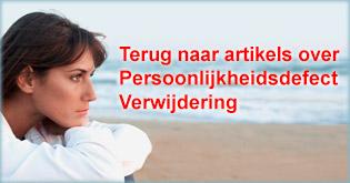 Introductie Persoonlijkheidsdefect Verwijderingsproces
