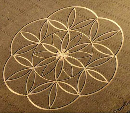 Объяснение возникновения кругов на полях с помощью духовных исследований