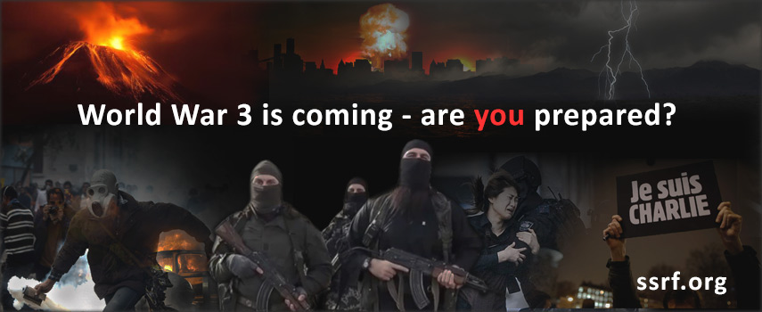World War 3 is coming - are you prepared?