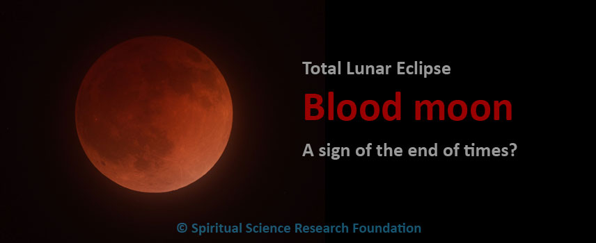Total Lunar eclipse 'Blood Moon' is NOT a sign of the end of times