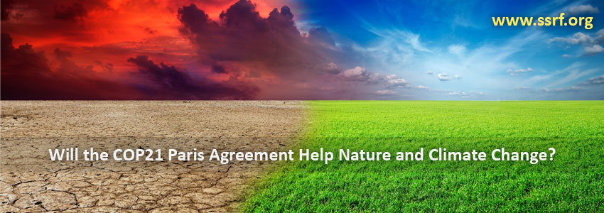 Will the COP21 Paris Agreement Help Nature and Climate Change?