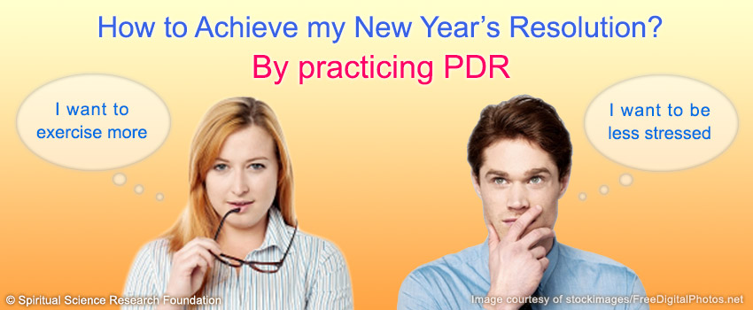 How to achieve my new year resolution?