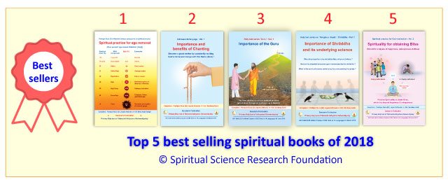 Top 5 best selling spiritual books of 2018