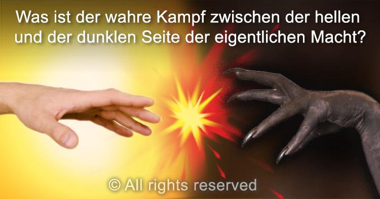 Was ist der wahre Kampf zwischen der hellen und der dunklen Seite der Macht?