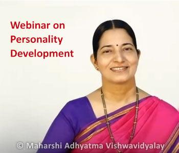 Webinar on Personality Development