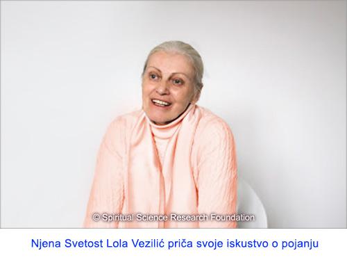 Duhovni put i posebne osobine Njene Svetosti Lole Vezilić