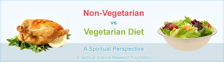 Vegetarian vs non vegetarian diet