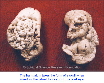 Method 5: Burned Alum - skull