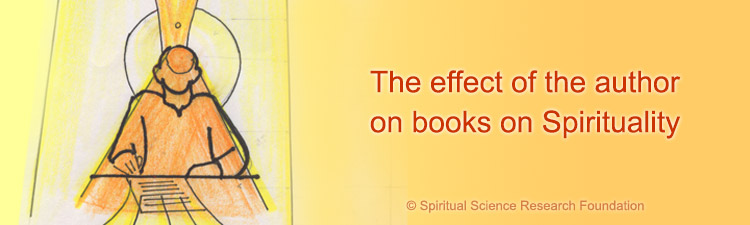 Effect of the author on books on Spirituality