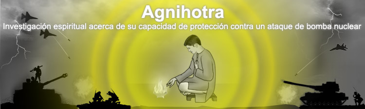 Agnihotra protects against nuclear radiation and nuclear bomb attack