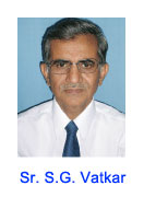 Photo of Mr. S.G. Vatkar