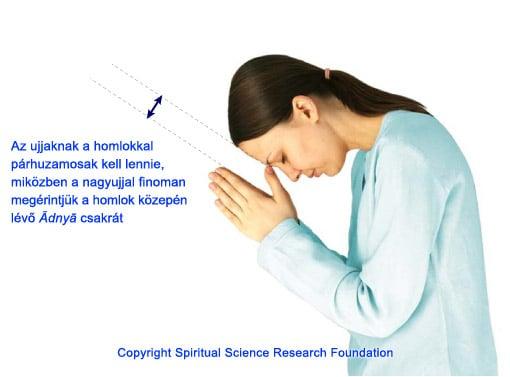 Final prayer position