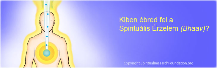 In whom spiritual emotion is awakened?