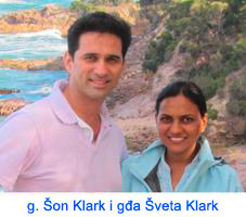 Mr. Sean Clarke and Mrs. Shweta Clarke