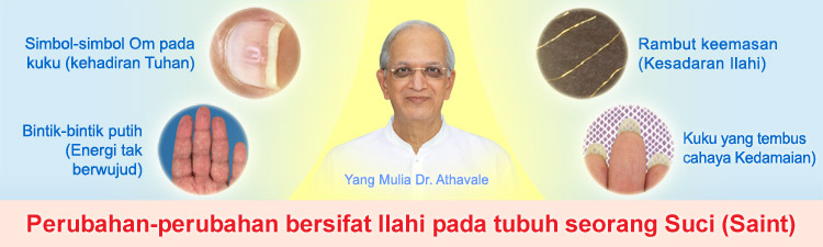 Divine changes in the body of higher level Saints