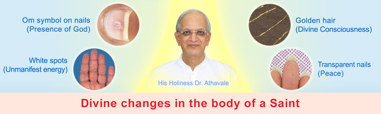 Divine changes on the body of the spiritually evolved