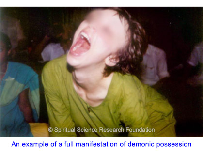 An example of demonic manifestation