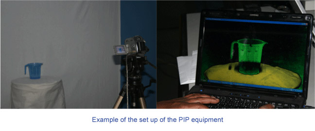 Example of PIP Equipment Setup
