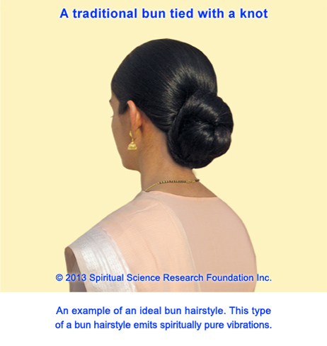 Best bun hairstyles – the traditional bun with a knot