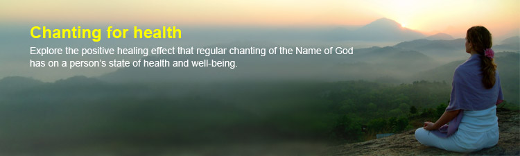 Chanting for health